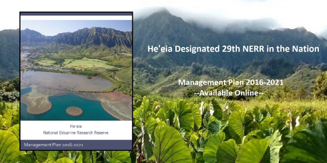 Heeia NERR Management Plan available online